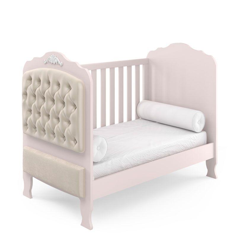 Quarto de Bebê Completo Elegance Fiorello Cor Rose Quartz