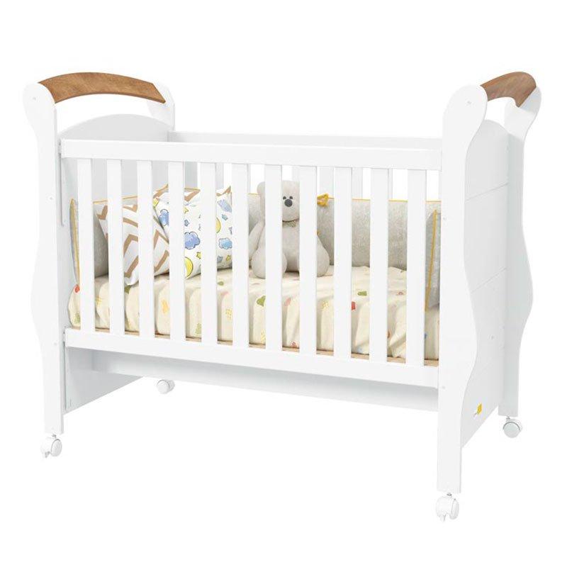 Quarto de Bebê Confort 4 Portas Matic Cor Branco Teka Touch
