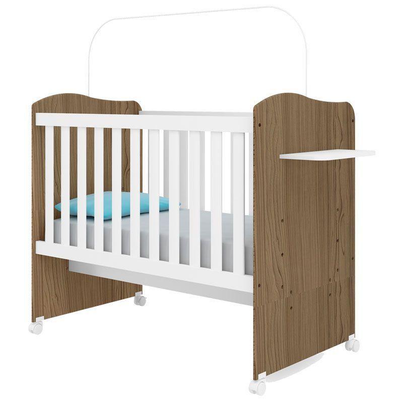Quarto de Bebê Imperial 4 Portas Canaã Cor Branco Acetinado