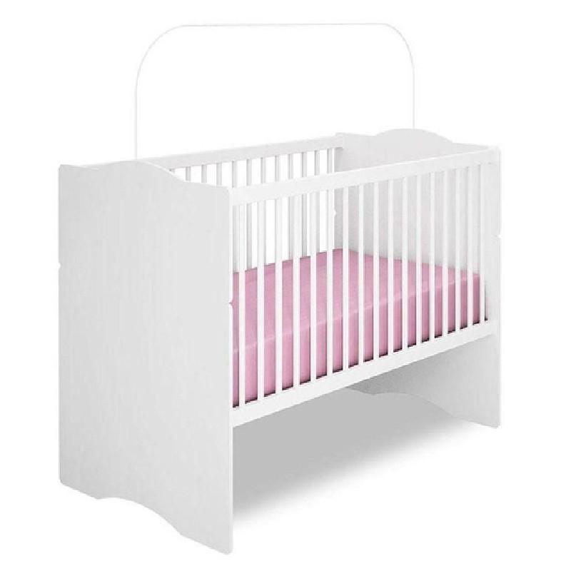 Quarto de Bebê Louise Berço Alegria AJL Branco