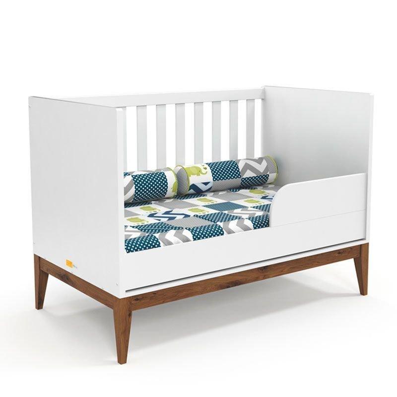 Quarto de Bebê Nature Clean 2 Portas Matic Cor Soft Eco Wood