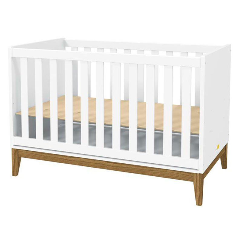Quarto de Bebê Nature Matic Cor Branco Acetinado