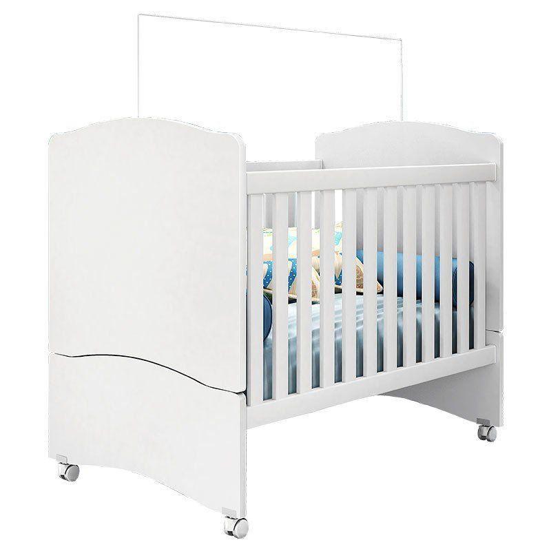 Quarto de Bebê Pérola Peternella Cor Branco Brilho