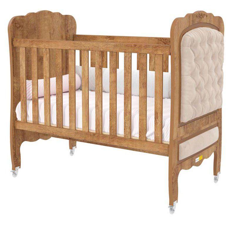Quarto de Bebê Provence 3 Portas Matic Cor Branco Teka Touch