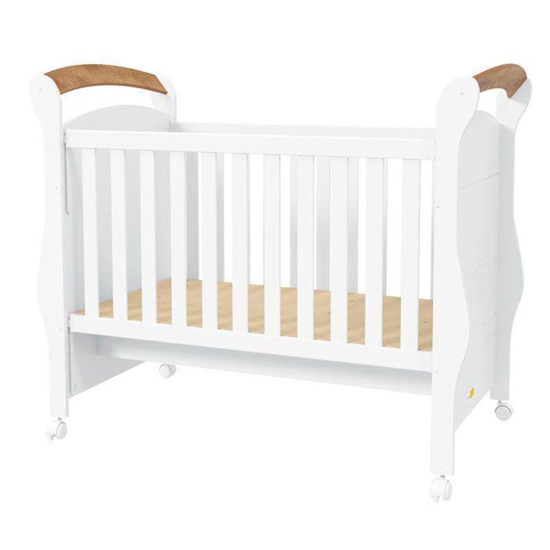 Quarto de Bebê Provence Plus 4 Portas Matic Cor Branco Teka