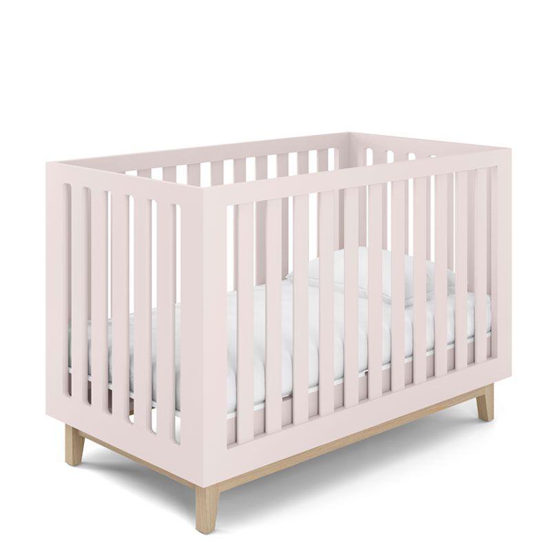 Quarto de Bebê Smart Baby Fiorello Cor Rose Quartz