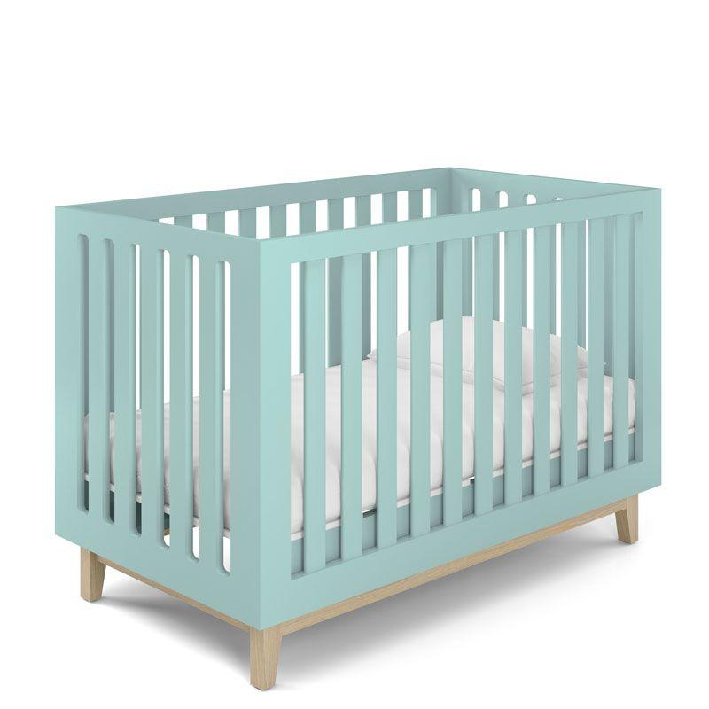 Quarto de Bebê Smart Baby Fiorello Cor Verde Menta