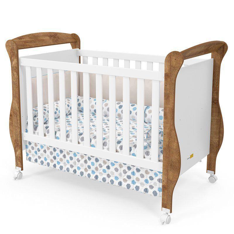 Quarto de Bebê Smart Matic Cor Branco Acetinado Teka