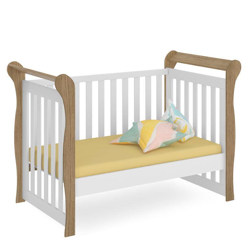 Quarto de Bebê Tuty Baby com Baú Onda Fiorello Cor Duetto
