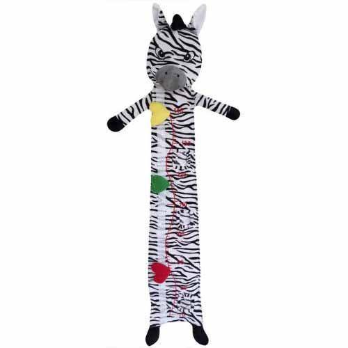 Régua De Crescimento Zebra Sonho De Luz Cor Branca Preto