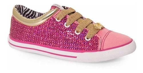 Tênis Infantil Casual Princesas Disney Sugar Shoes