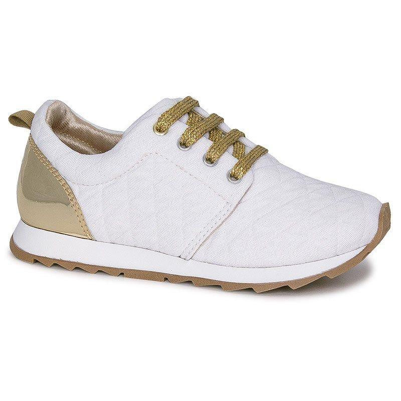 Tênis Infantil Diversão Runner Sugar Shoes Cor Branco