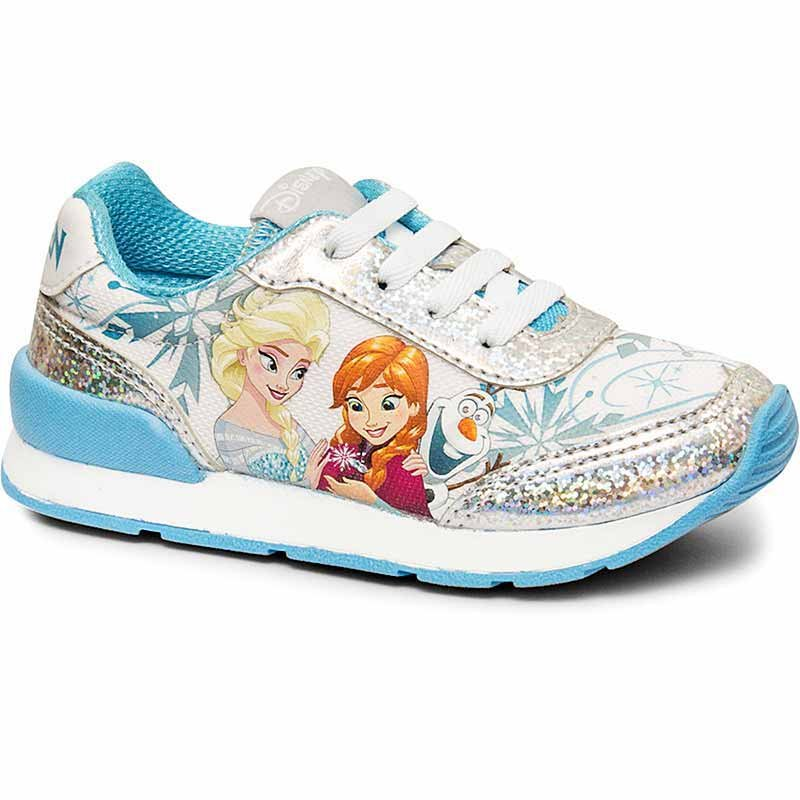 Tênis Infantil Feminino Jogging Frozen Sugar Shoes