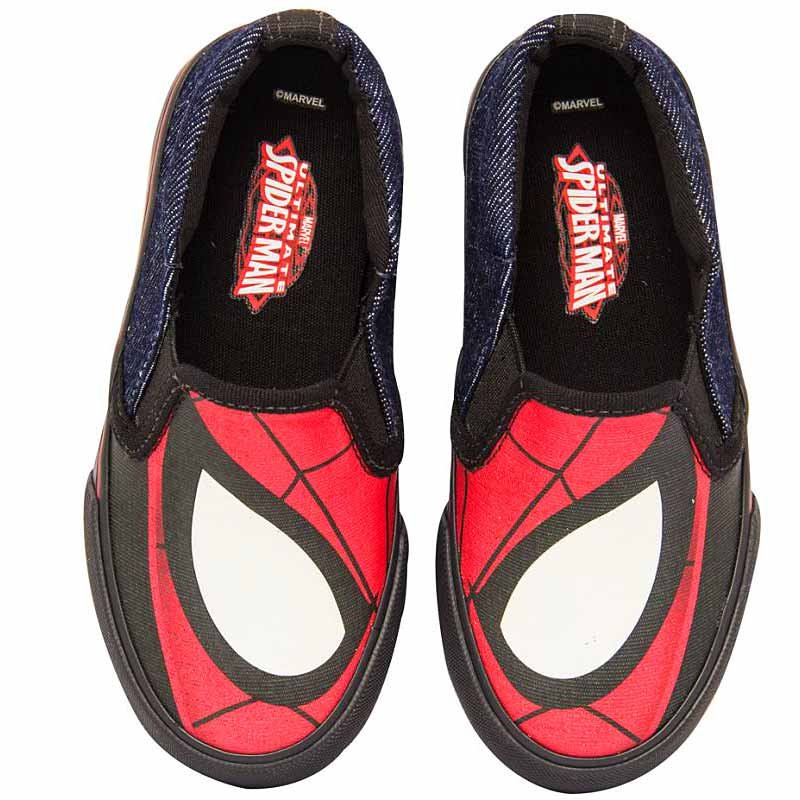 Tênis Infantil Iate Homem Aranha Marvel Sugar Shoes N°33
