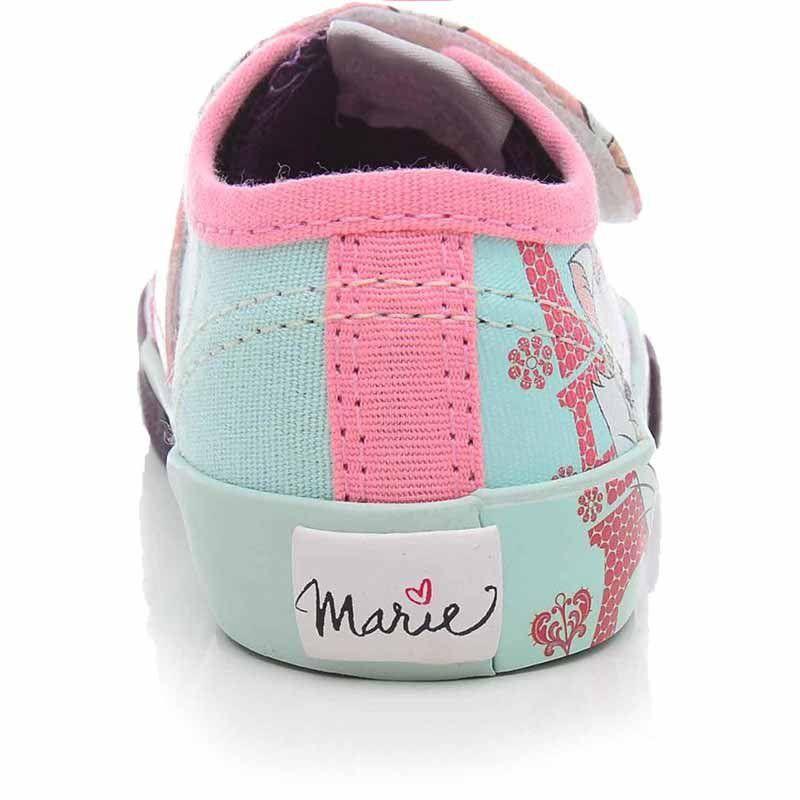 Tênis Infantil Velcro Feminino Gatinha Marie Sugar Shoes