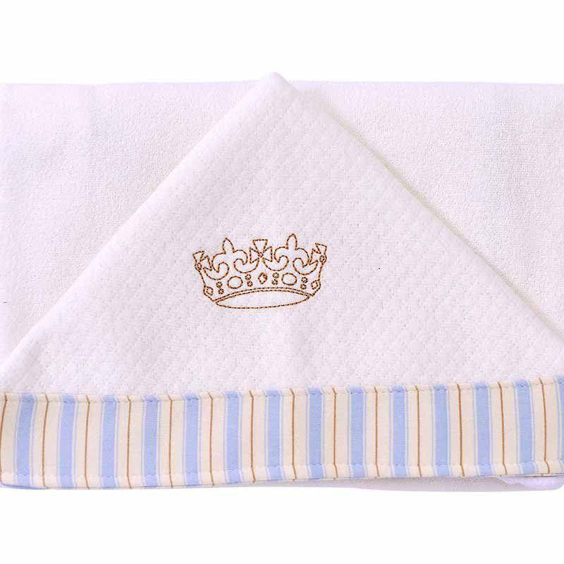 Toalha de Banho Infantil com Capuz Pequeno Principe Hug Baby