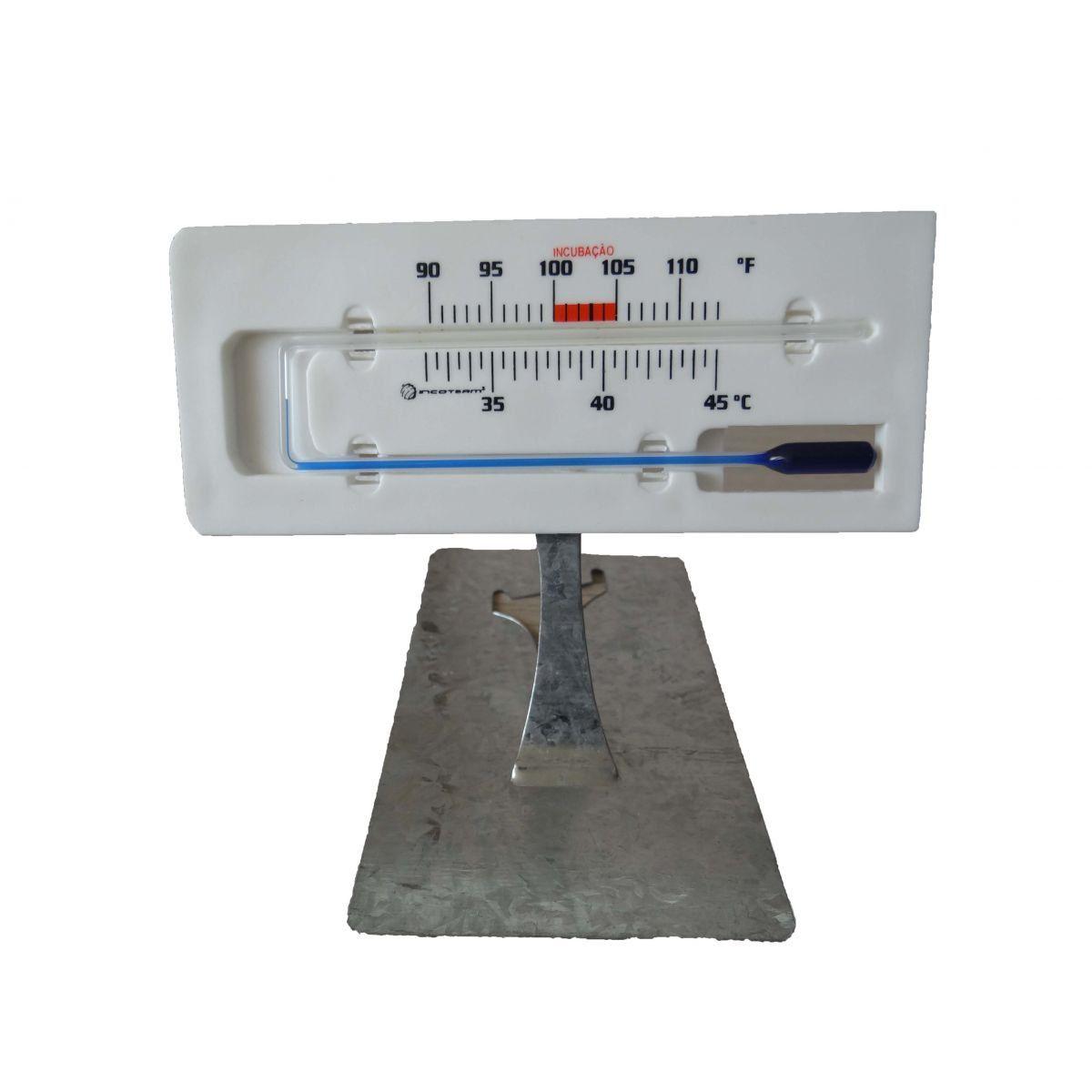 Termômetro de Mercúrio para Incubação
