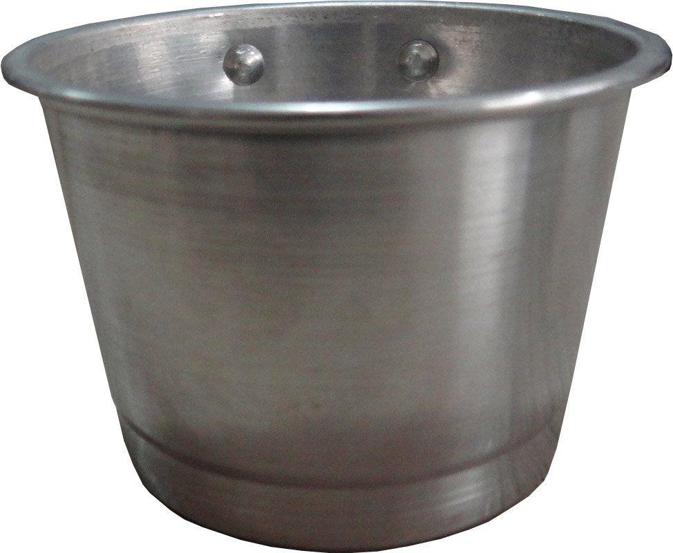 Comedouro de alumínio com parafuso - grande - 3 unidades