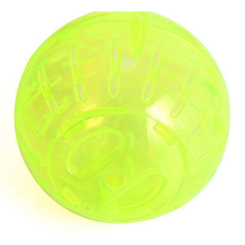 Bola de Exercícios para Hamster 17,8cm - Amarela