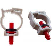 Abraçadeira para cano de PVC - Adaptador Pino
