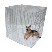 Cercado canil cães cachorro grande arame  1 metro