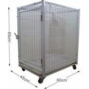 Módulo Inferior Gaiola para Cães e Gatos Pequena