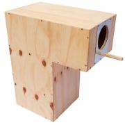 Ninho para papagaio - chocmaster