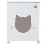 Sanitário banheiro gatos  gatil caixa de areia Félix