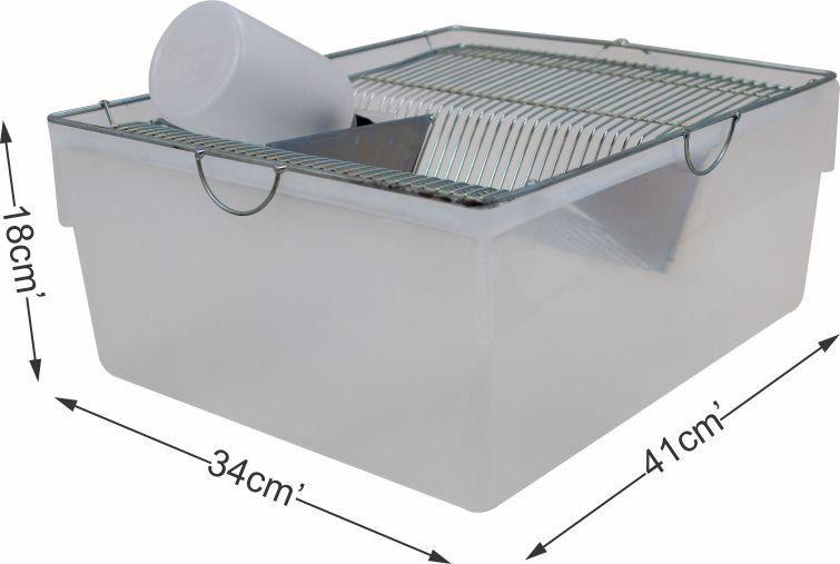 Biotério para ratos e camundongos - Médio nº03