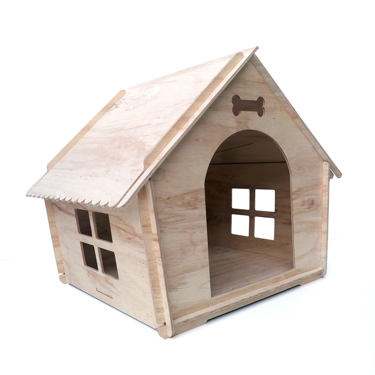 casa de madeira para cães de porte grande - BOLT chocmaster