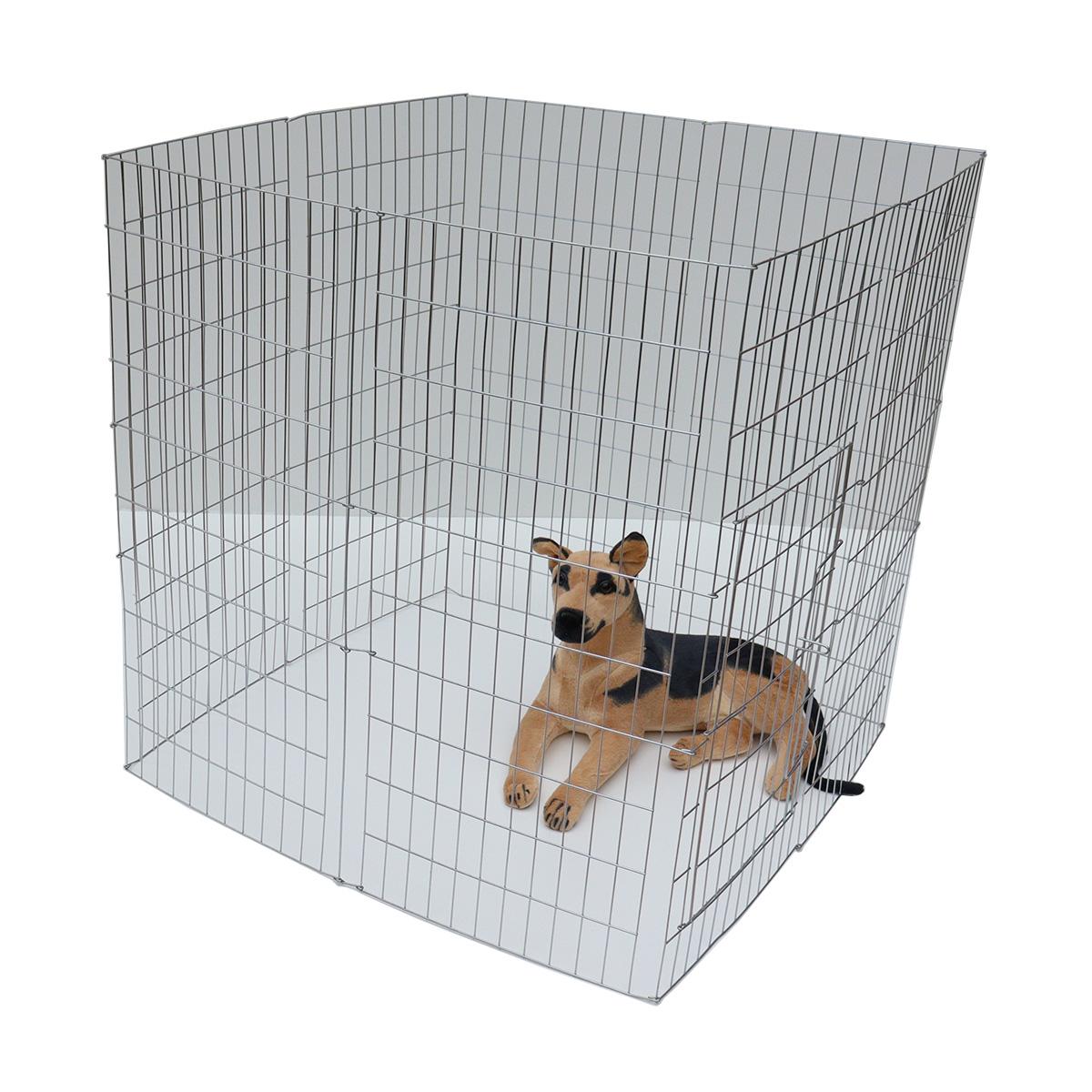 Cercado grade canil cachorro cães pet médio