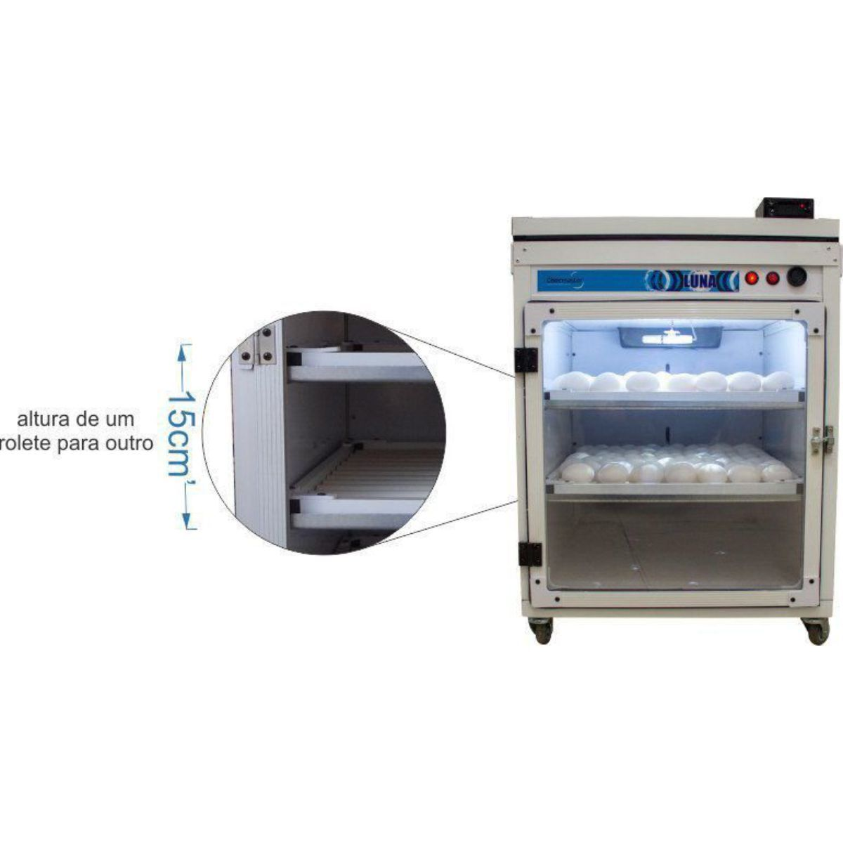 Chocadeira Automática Digital - Luna 160