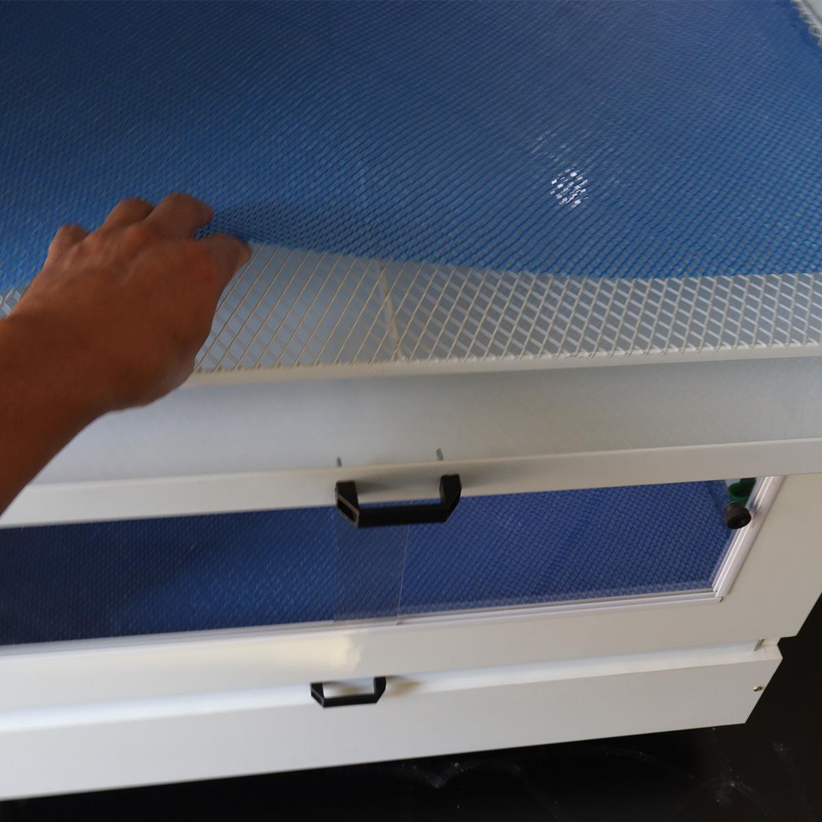 Criadeira Para Pintinhos com aquecimento digital De Faisão, Codorna, Pavão 2 Andares - Grande