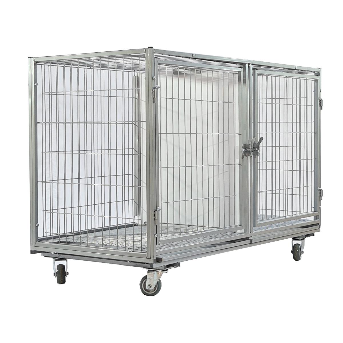 Gaiola cães gatos 2 lugares banho e tosa veterinária