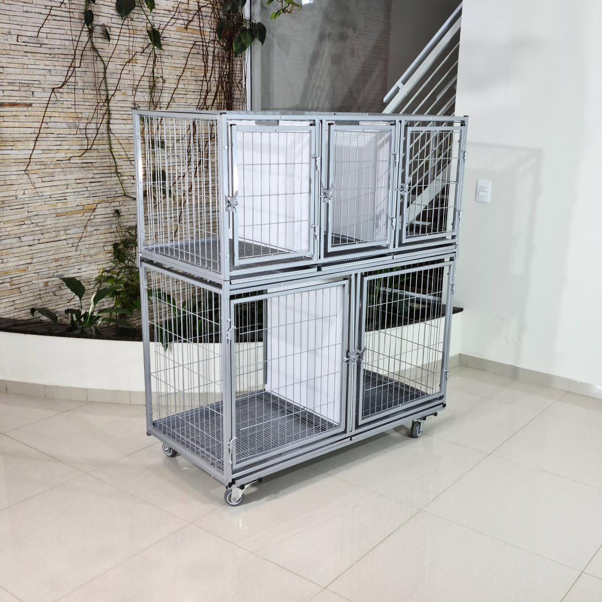 Gaiola CANIL GATIL cães gatos 5 lugares banho e tosa veterinária