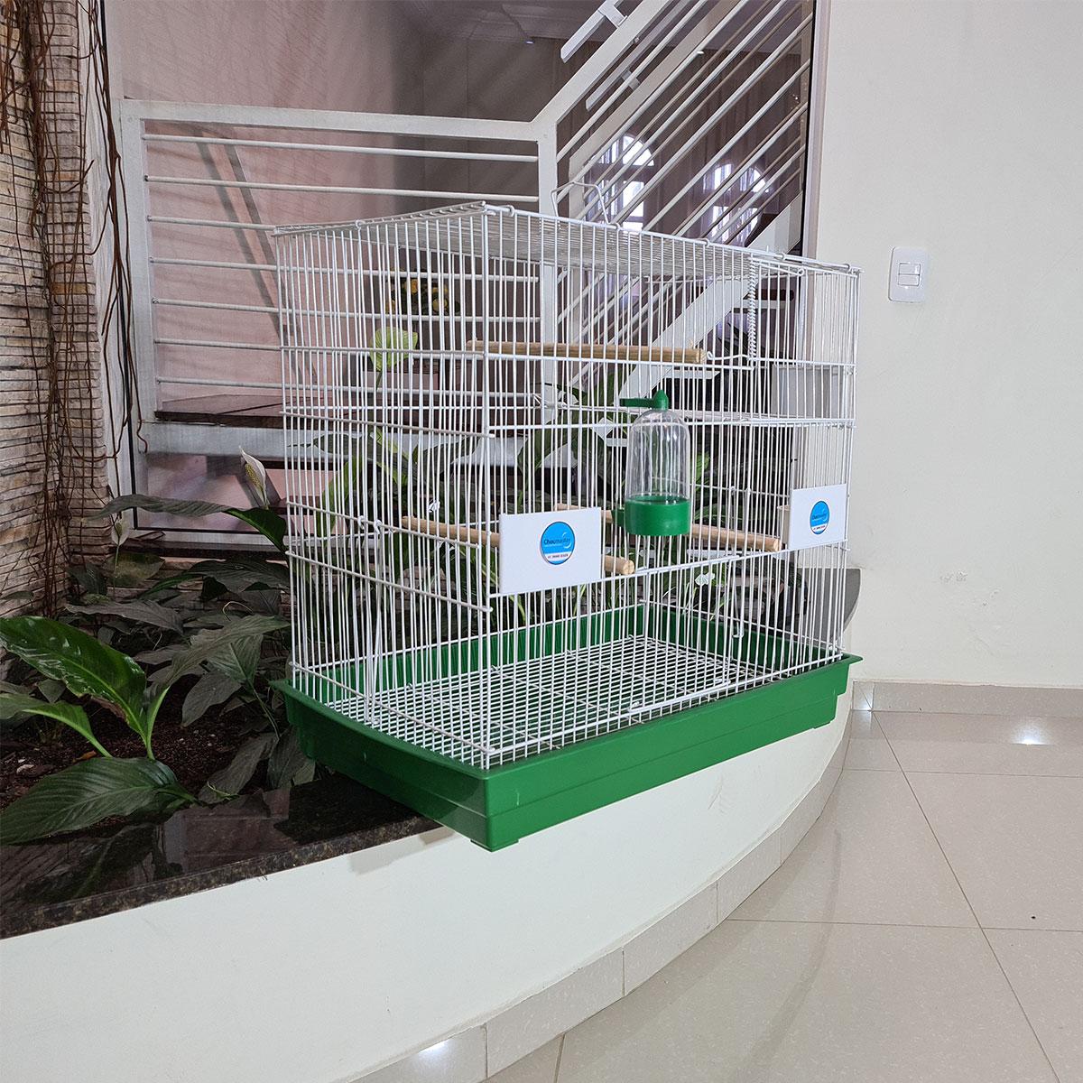Gaiola Viveiro Calopsita Agapornis E Outros Pássaros Manso