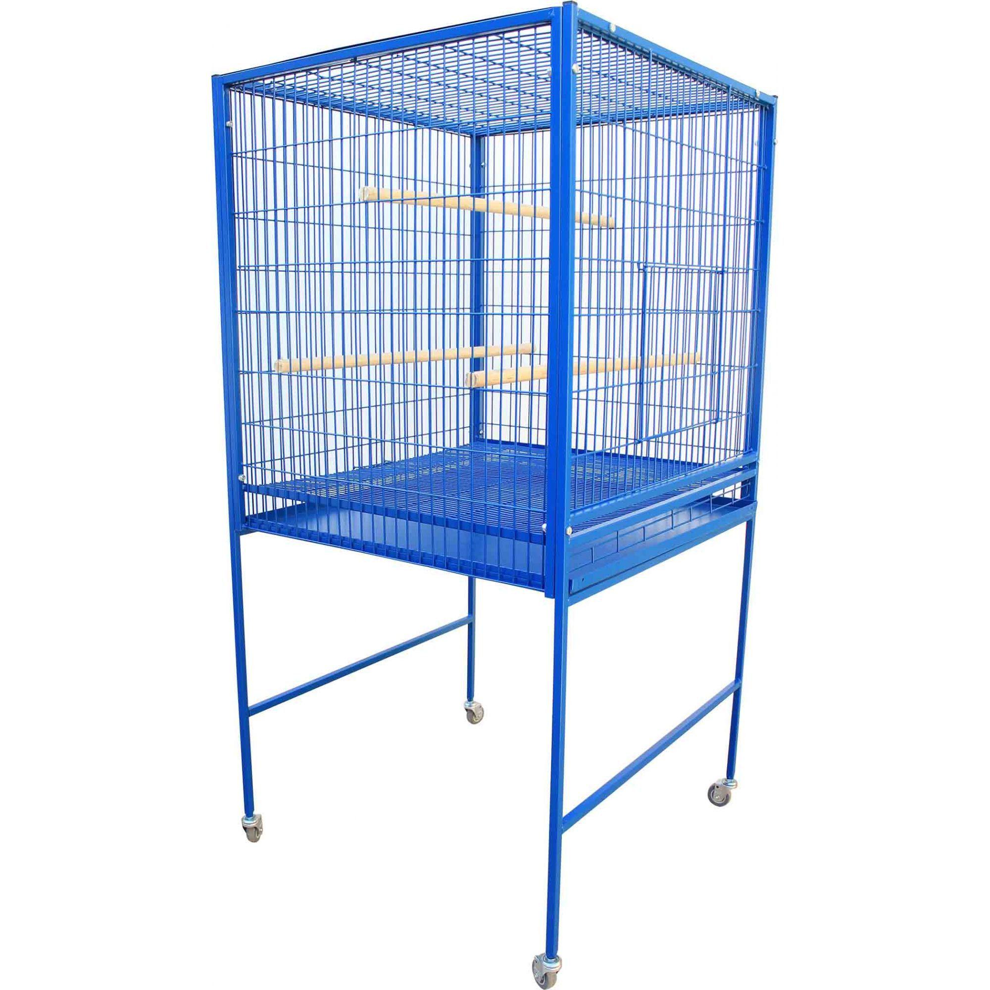 Gaiola Ring Neck, Rosela, Arara, Papagaio, Cacatua - Azul