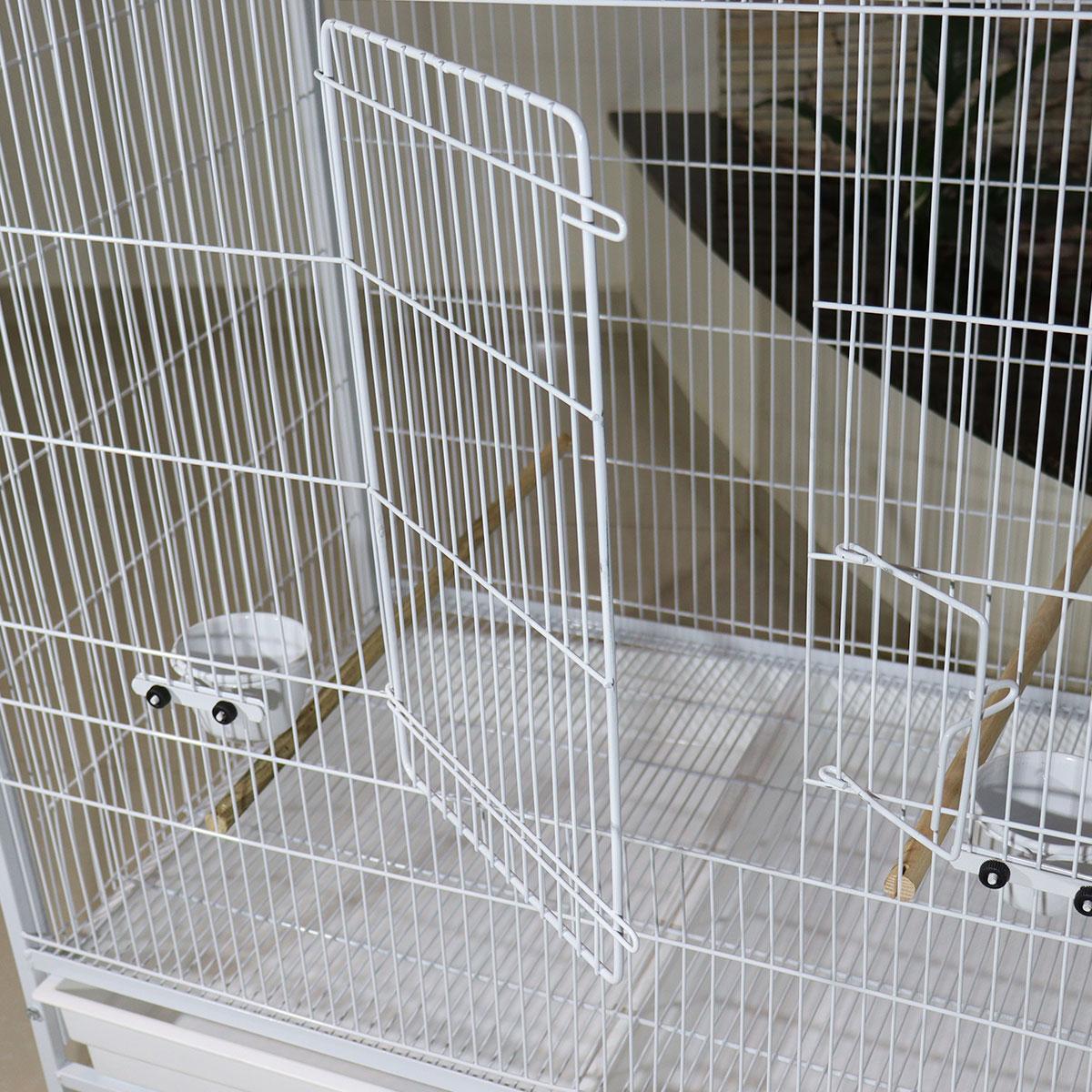 Gaiola Voadeira Viveiro Aves Em Geral - Modelo Lívia