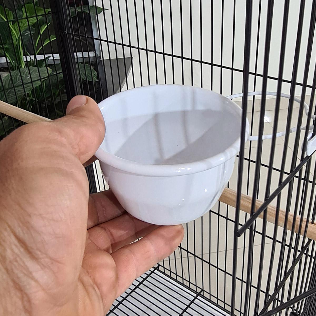 Gaiola Voadeira Viveiro Aves Em Geral - Modelo Lívia Preta