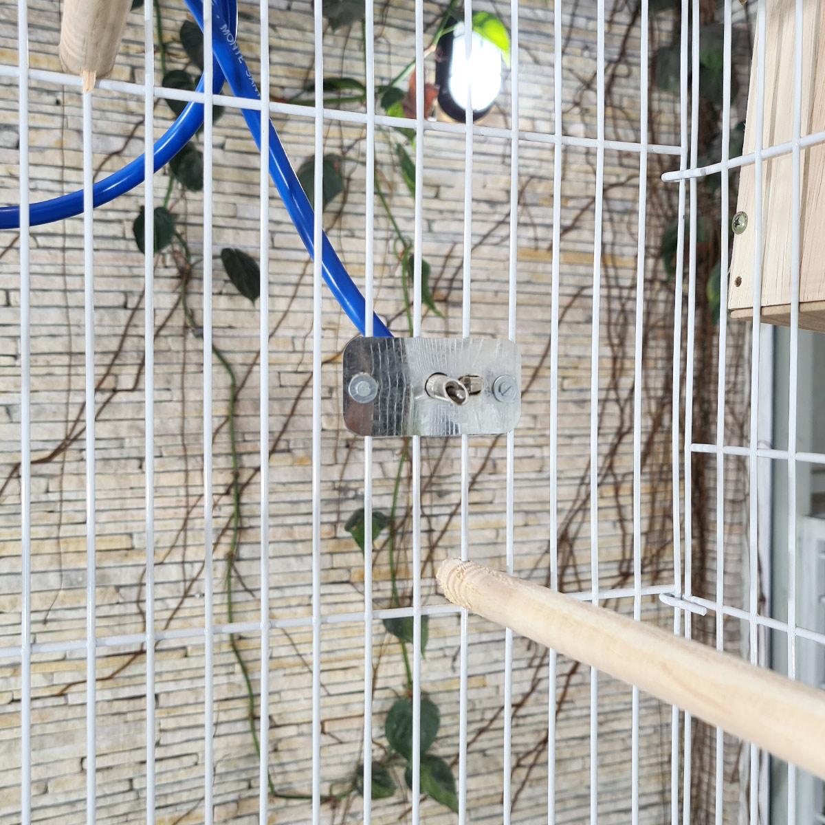 gaiola Voadeira viveiro reprodução calopsita agaporne periquito karen completa