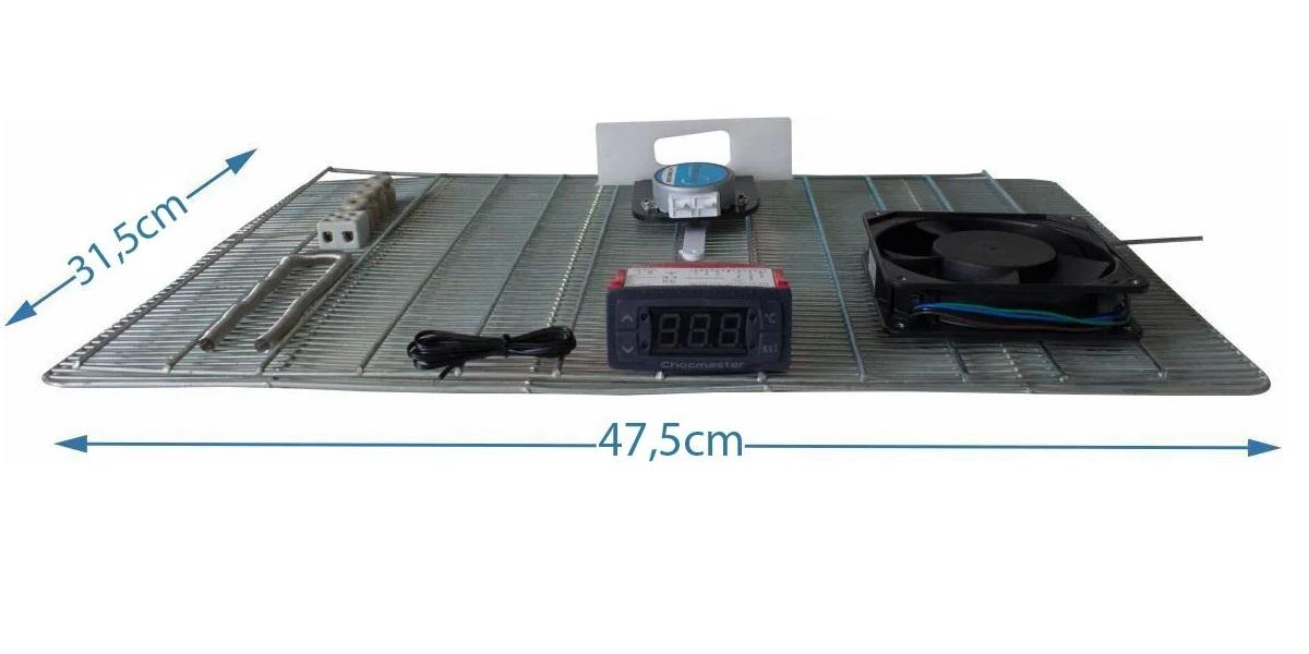 Kit para fabricação Montagem de Chocadeira- 50 ovos