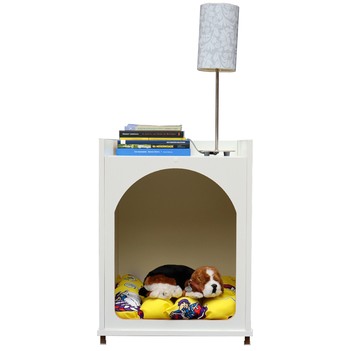 Mesa Cabeceira, criado mudo Casa cachorro Gato Com Almofada- ARUK