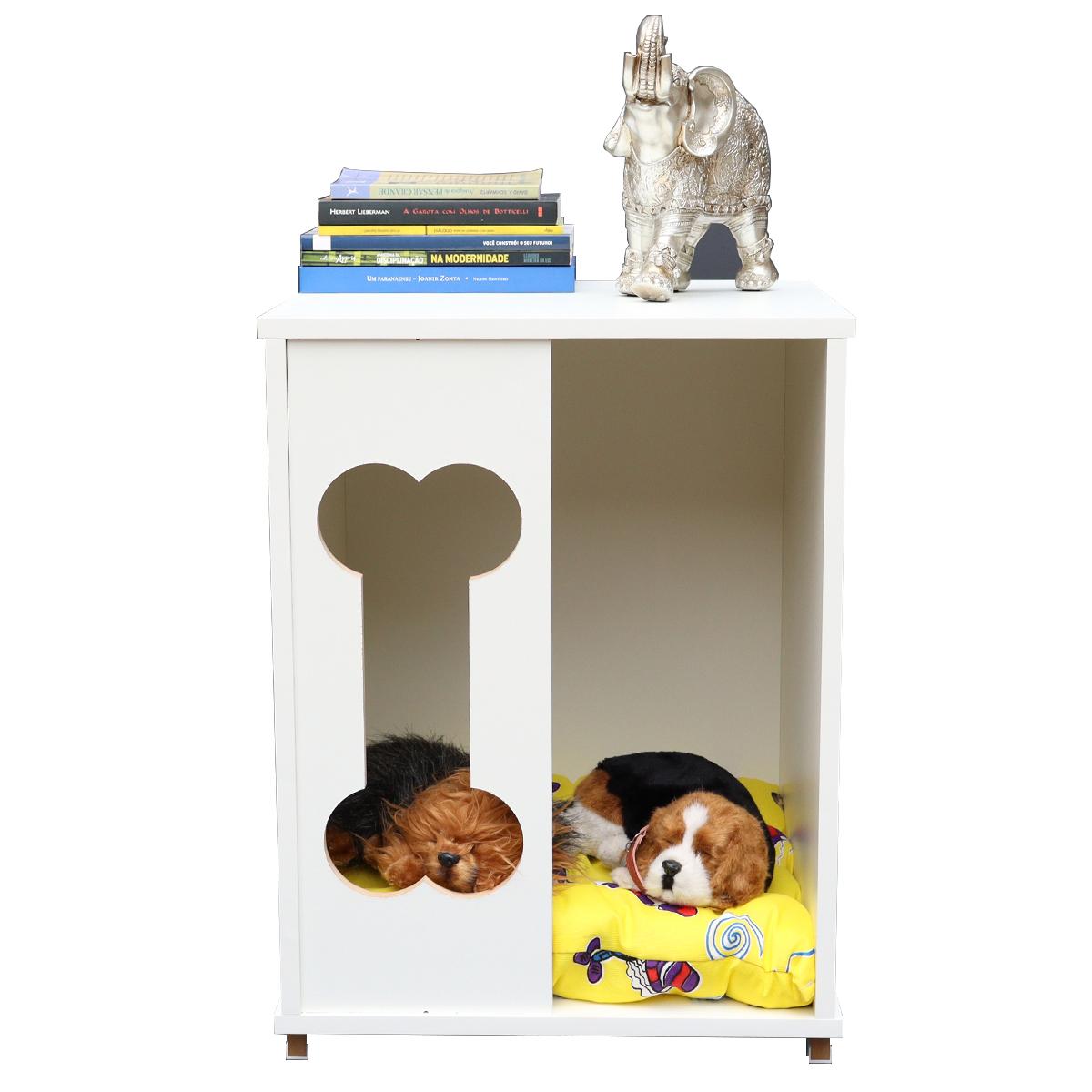 Mesa Cabeceira, criado mudo Casa cachorro Gato Com Almofada-BOB