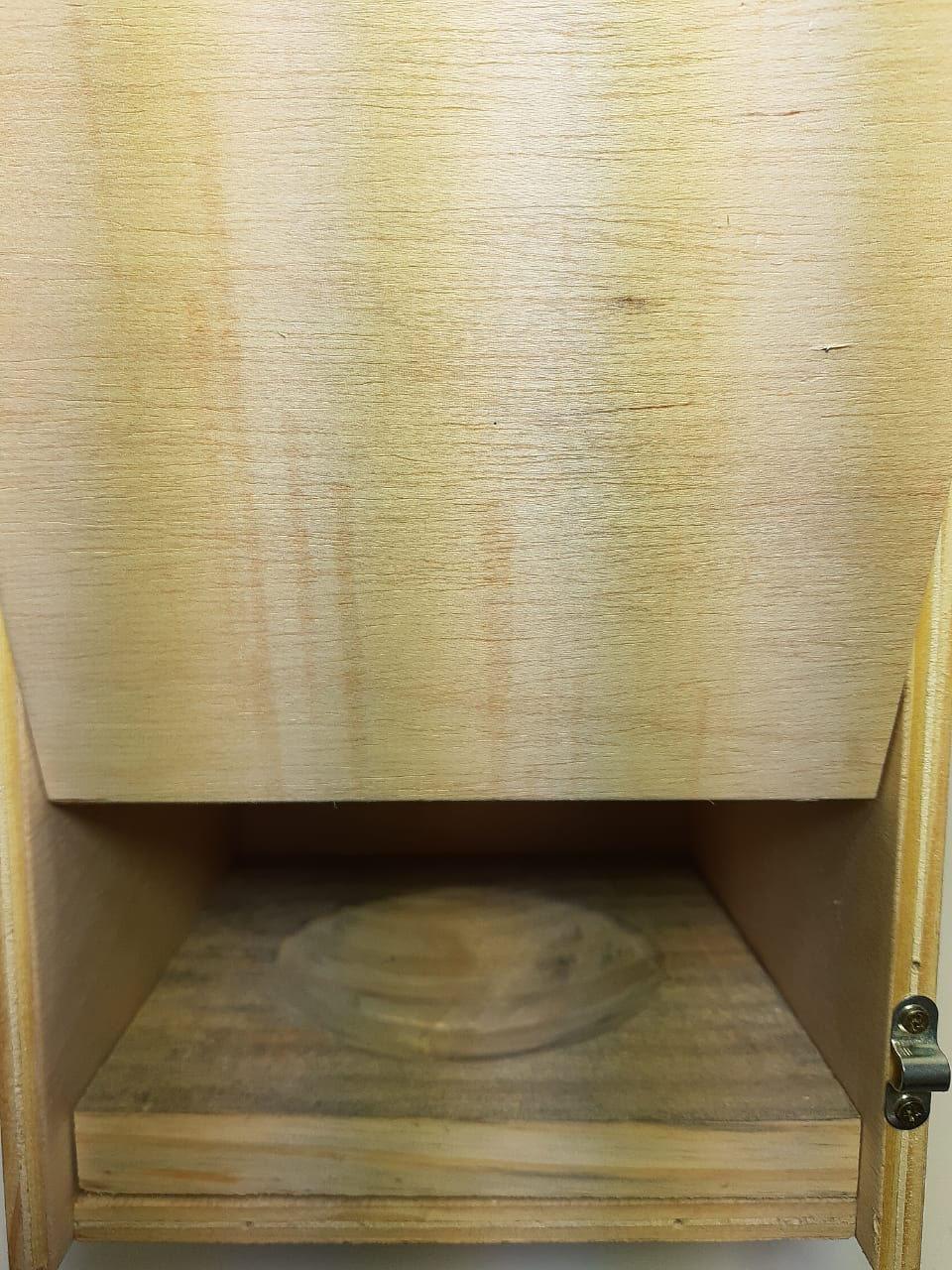 Ninho para Calopsita Vertical - ChocMaster