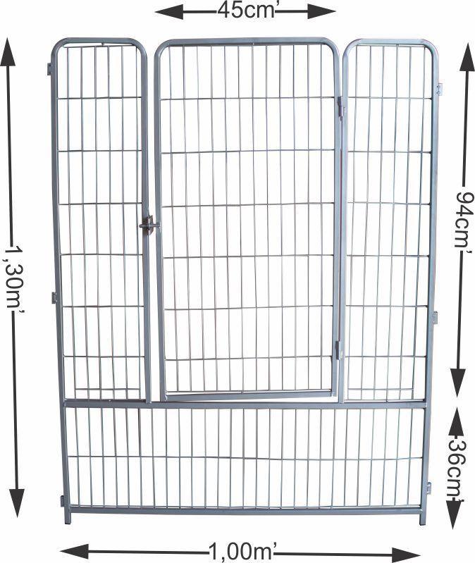 Portão do cercado para cães e diversos animais - Grande