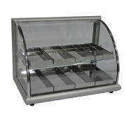 Estufa de Salgados com 8 Bandejas em Alumínio Anodizado