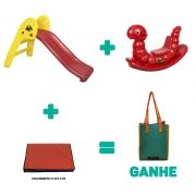 Kit Playground Infantil Bronze + Brinde