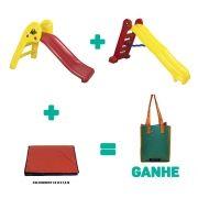 Kit Playground Infantil Premium + Brinde
