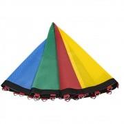 Lona de Salto Para Cama Elástica 4,27 m ou 4,40 m 72 Molas Canguri Quadricolor