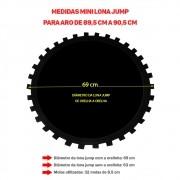 Lona Jump de 32 Molas Aro 89,5 cm a 90,5 cm